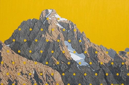 David Pirrie, The Grand Teton, SW 2014, Oil on Canvas
