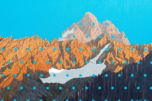 David Pirrie, The Grand Teton, NW 2014, Oil on Canvas