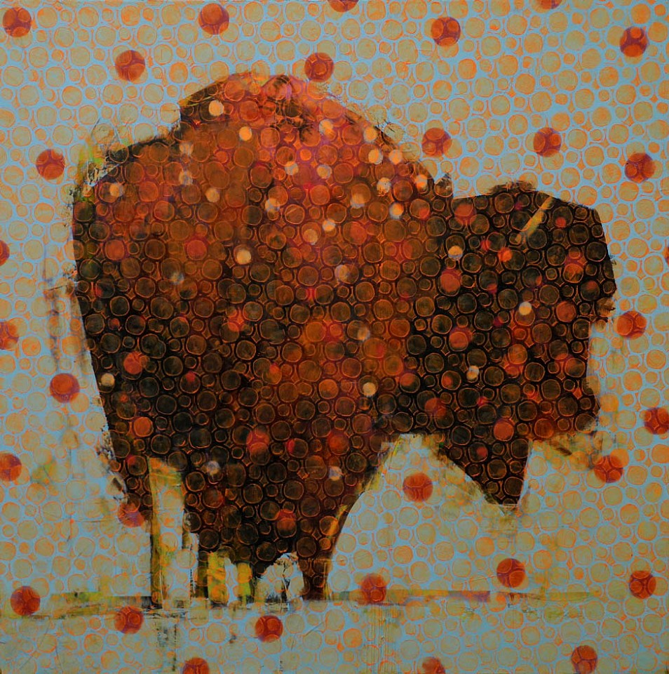 Les Thomas, Animal Painting #014-1102