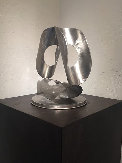 John Simms, Radial Triangle 2015, Stainless Steel