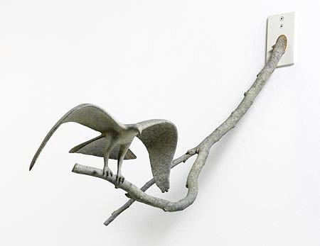 Gwynn Murrill, Flying Eagle Maquette (Wall Mount) 2010, Bronze