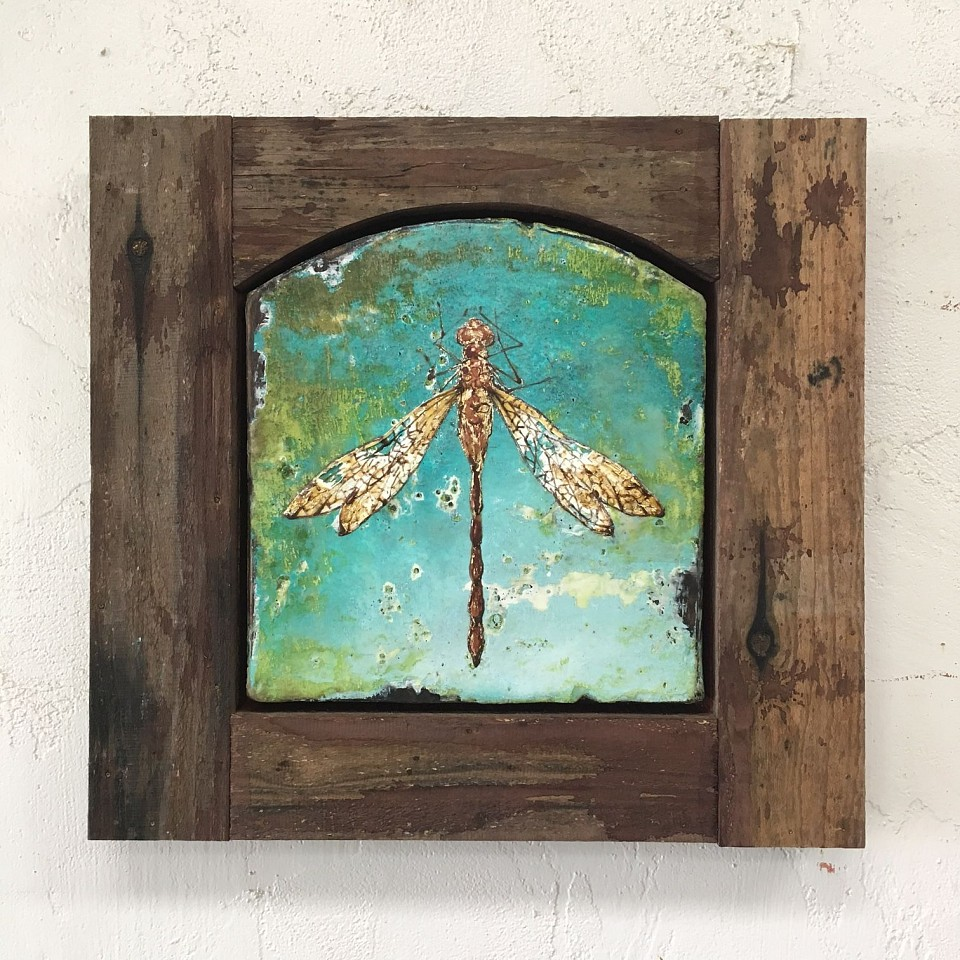 Chris Reilly, Dragonfly 2016, Mixed Media