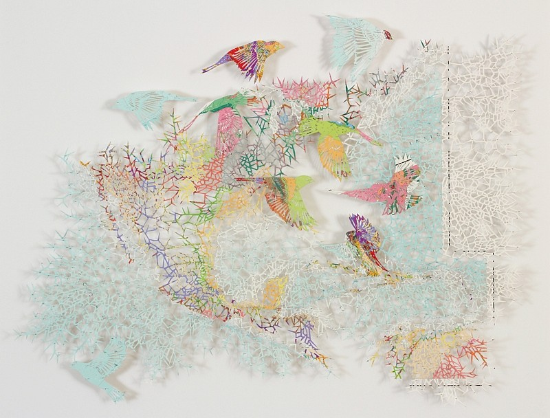 Claire Brewster, Maelstrom 2016, UNESCO Atlas Geological Du Monde - North America