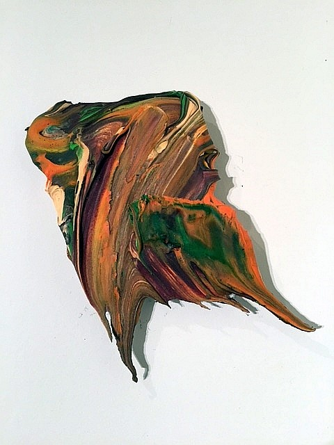 Donald Martiny, Untitled III Polymer and Pigment Mounted on Aluminum