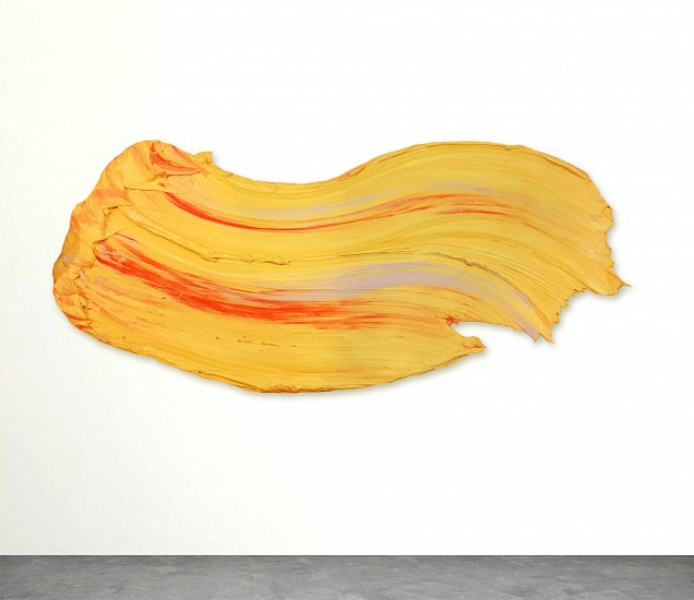 Donald Martiny, Adige 2017, Polymer and Pigment Mounted on Aluminum