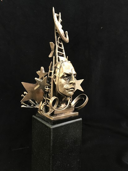Ted Gall, Putting Out the Night 2017, Bronze