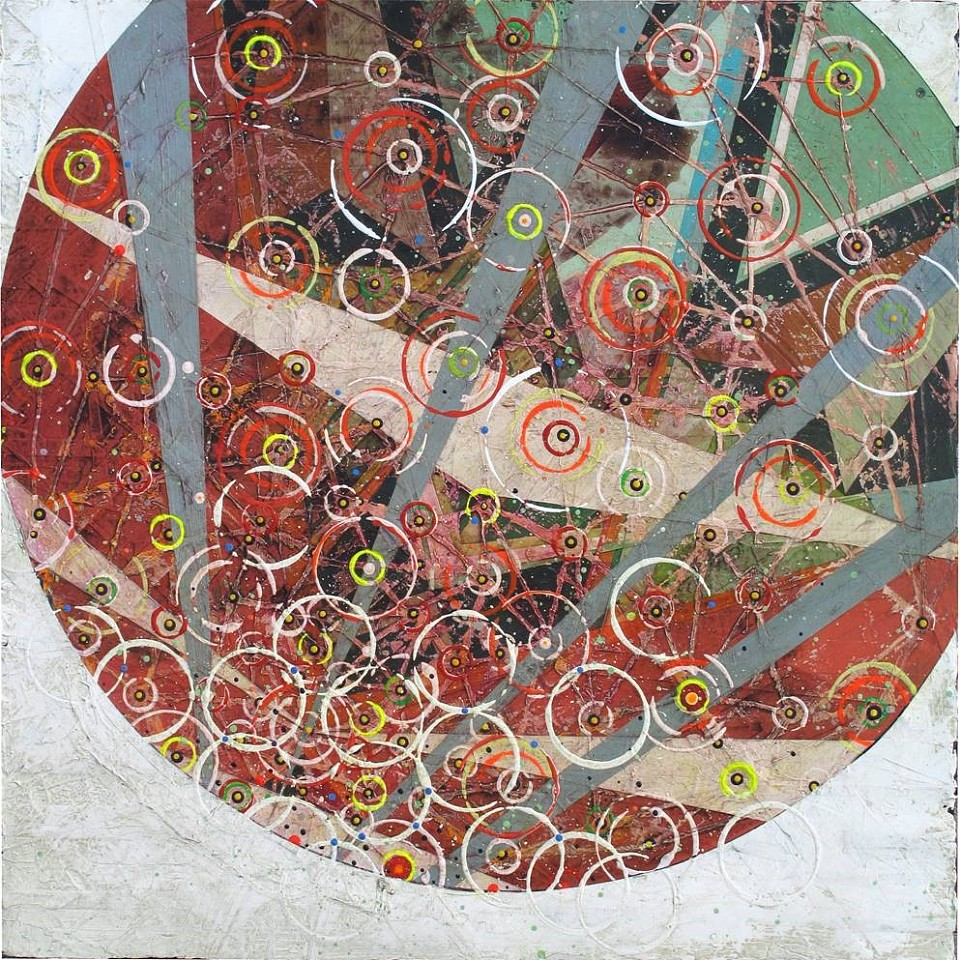 Jason Rohlf, Fortune Tellers 2 Acrylic and Collage on Canvas