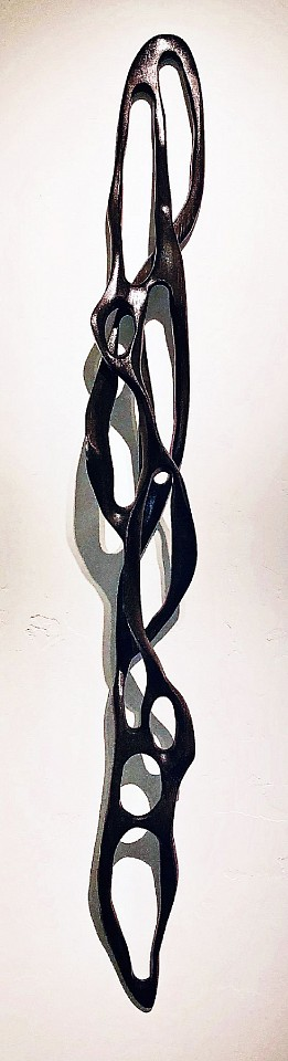 Caprice Pierucci, Charcoal Linear Loop III Pine