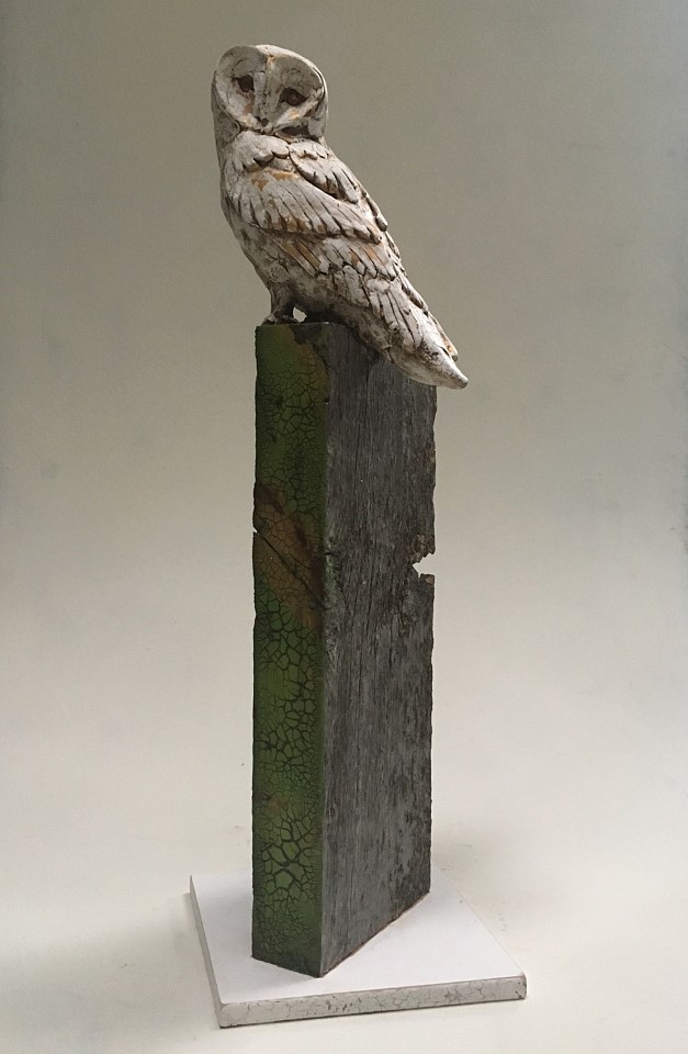 Chris Reilly, Barn Owl Mixed Media